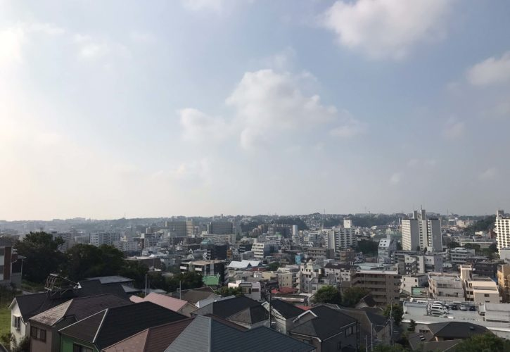 坂の多い町 横浜