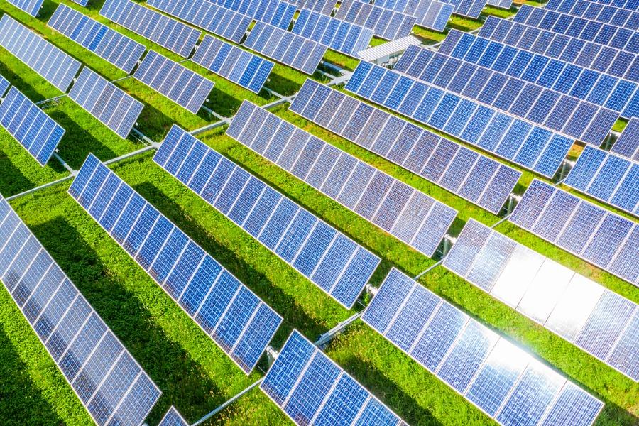 メガソーラー(太陽光発電)施設